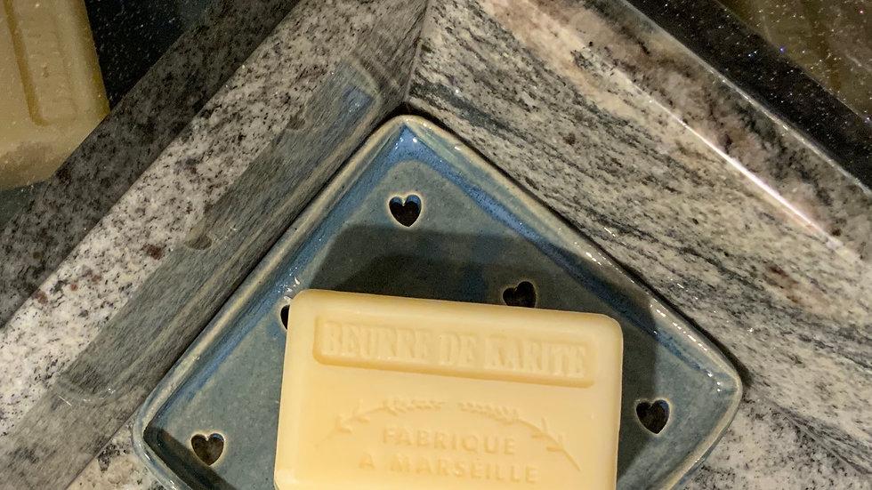 Quadrant Soap dish - choice of colours