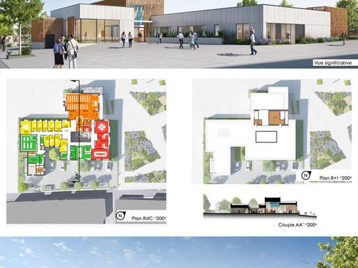 Concours Gagné avec Form'@ Architectes !