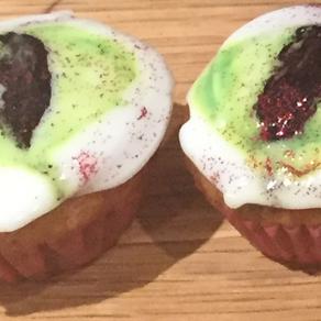 Dragon's Eye Mini Cup Cakes
