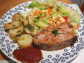 Meat Loaf -Protein, Carbohydrate, a little fat AND vegetables!