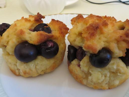 Blueberry Muffins (+Gluten Free Option)