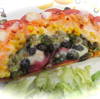 TG's Phyto Powered Rapid Rainbow Pizza -
