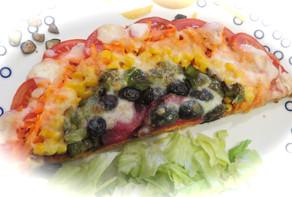TG's Phyto Powered Rainbow Pizza - serves 2