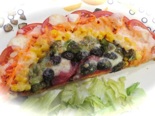 TG's Phyto Powered Rainbow Pizza