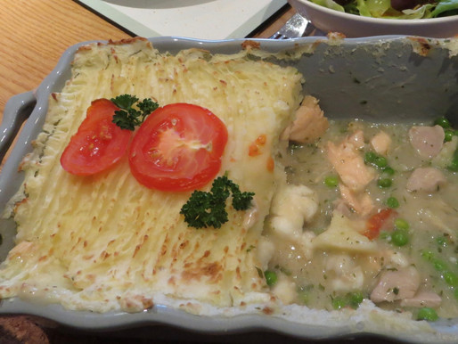 Omega Rich Fish Pie - with monk fish, fresh tuna and fresh salmon