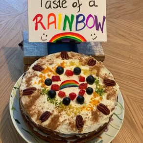 Taste of a Rainbow Cake