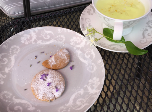 Lavender and Citrus Biscuits