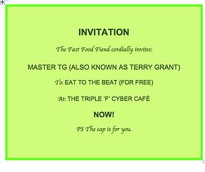 FFF Invitation