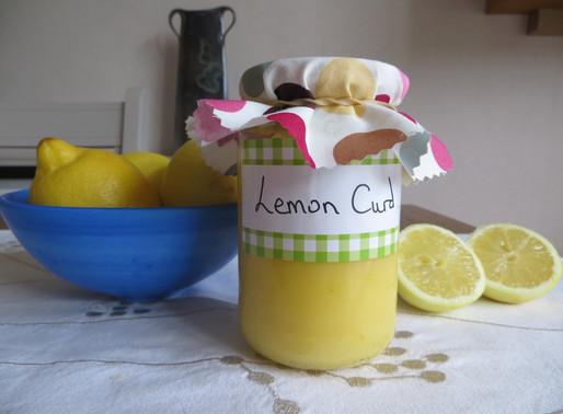 Lemon Curd in minutes, low fat, low sugar