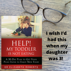 Help! My Toddler is Not Eating by Dr Elizabeth Roberts - Book Review