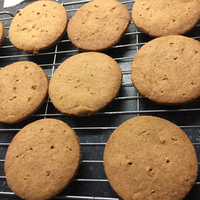Low Sugar Almond Biscuits
