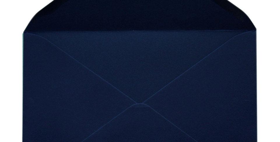 Pack 10 Sobres de Boda Color Azúl Noche C5 (16,2x22,9cm)