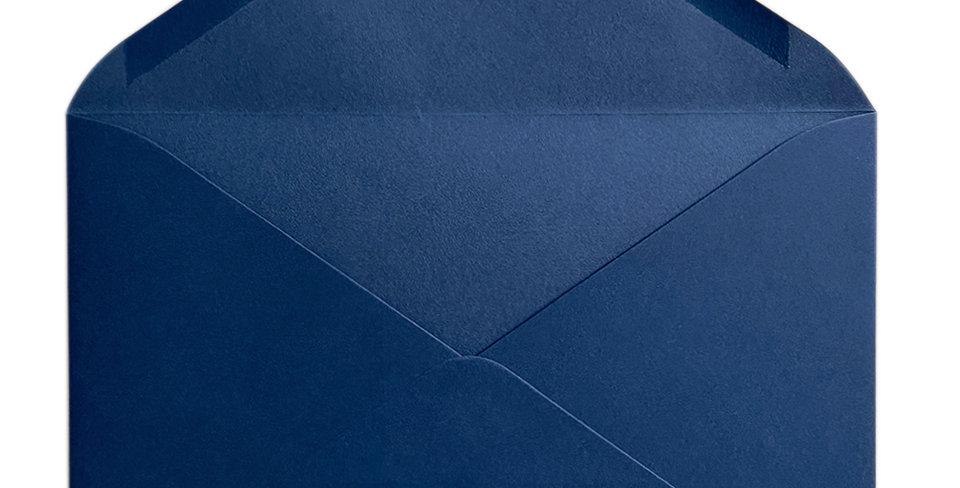Pack 10 Sobres de Boda Color Azúl Marino C5 (16,2x22,9cm)