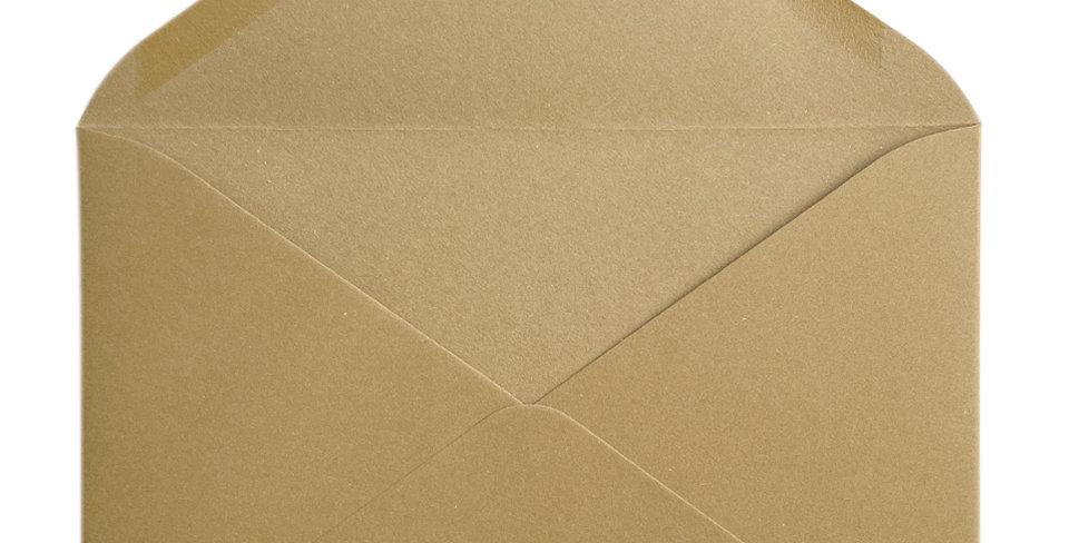 Pack 10 Sobres de Boda Rustic Cotton Kraft C5 (16,2x22,9cm)