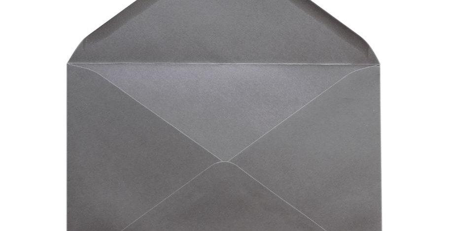 Pack 10 Sobres de Boda Gris Piedra C5 (16,2x22,9cm)