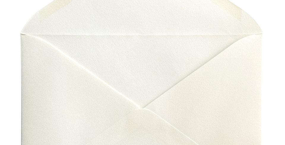 Pack 10 Sobres de Boda Rustic Cotton Ahuesado C5 (16,2x22,9cm)