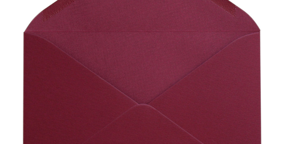 Pack 10 Sobres de Boda Color Burgundy C5 (16,2x22,9cm)