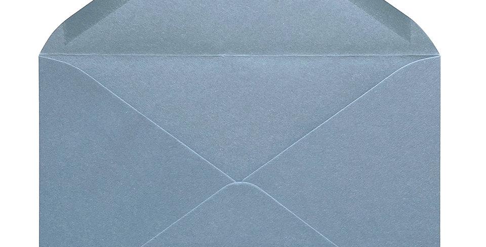 Pack 10 Sobres de Boda Rustic Cotton Aqua C5 (16,2x22,9cm)