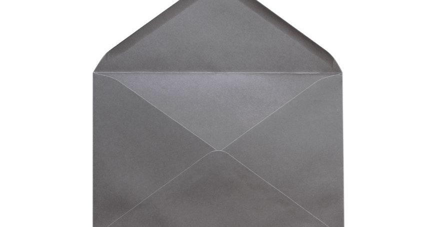 Pack 10 Sobres Gris Piedra 12x17,4cm