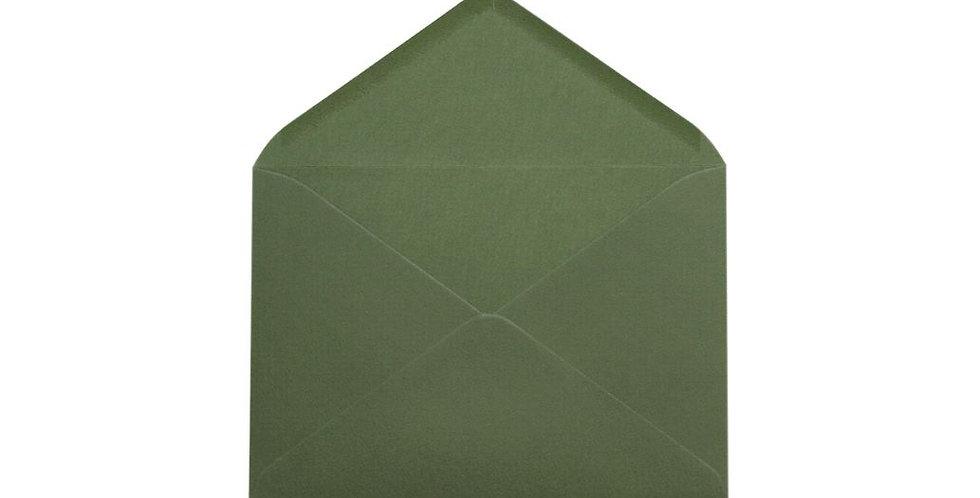 Pack 10 Sobres Texturado Verde Oliva 12x17,4cm