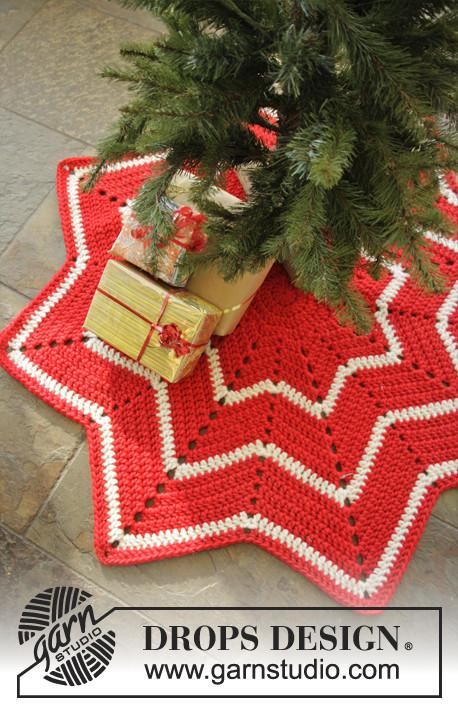 Patrón Crochet | Alfombra navidad \
