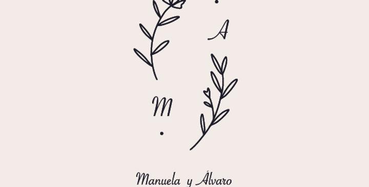 Sello de Boda Manuela