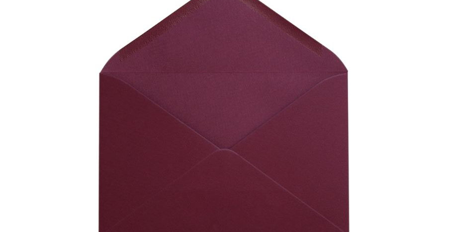 Pack 10 Sobres Texturado Burgundy 12x17,4cm