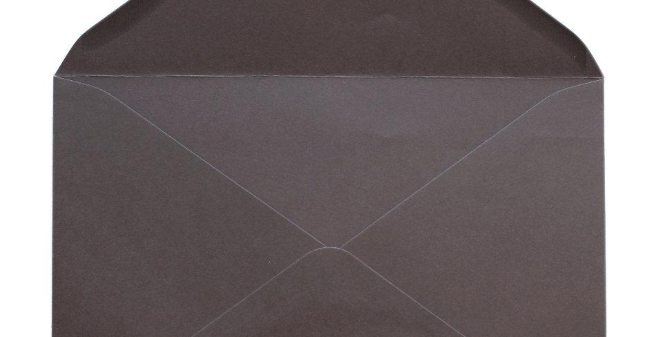 Pack 10 Sobres de Boda Marrón Café C5 (16,2x22,9cm)