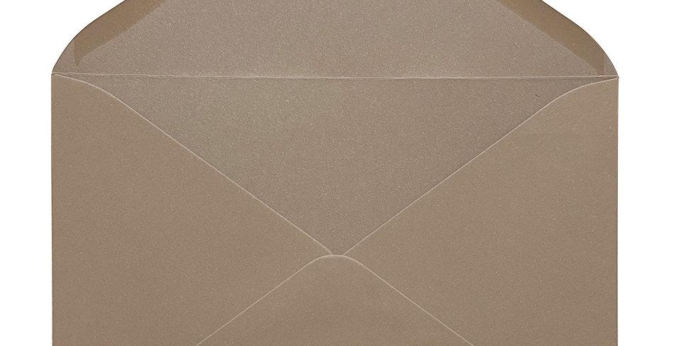 Pack 10 Sobres de Boda Color Nuez C5 (16,2x22,9cm)