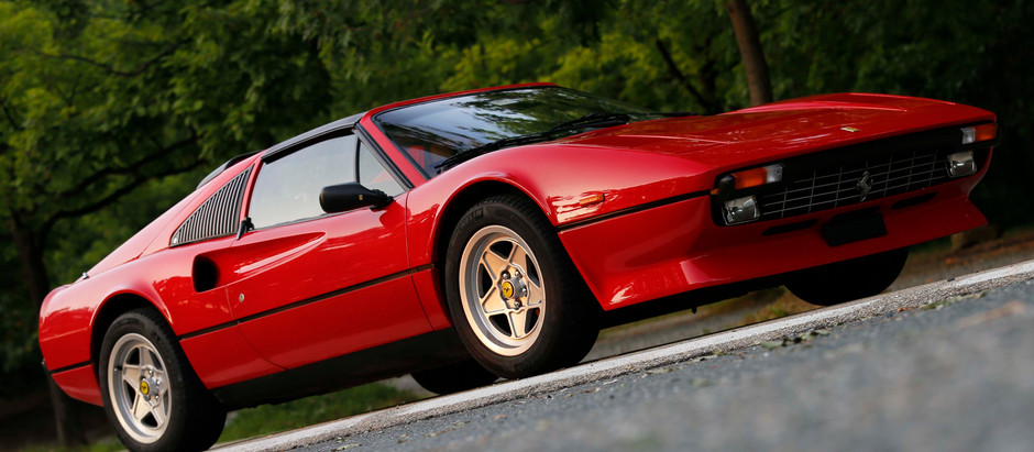 Ferrari 308, the Red for excellence