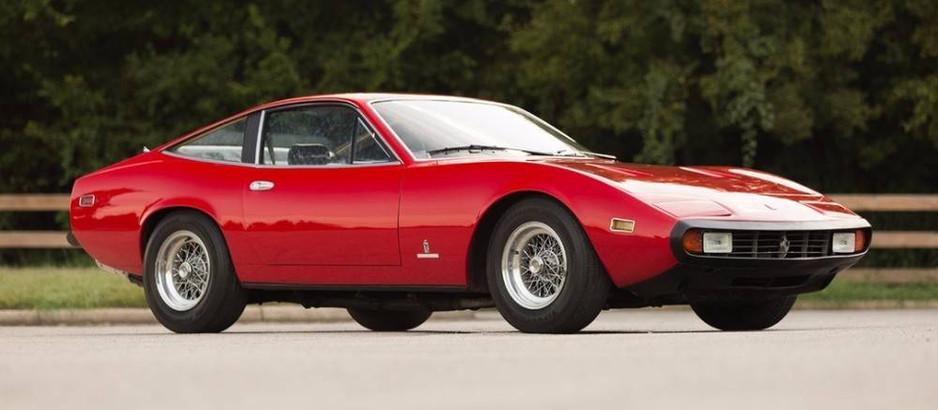 Ferrari 365 GTC4, il Gobbone