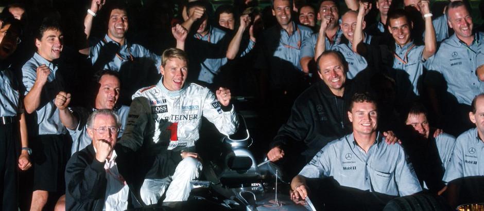 #17 1999: GP del Giappone, Mika Hakkinen è Campione del Mondo, la Ferrari vince i costruttori