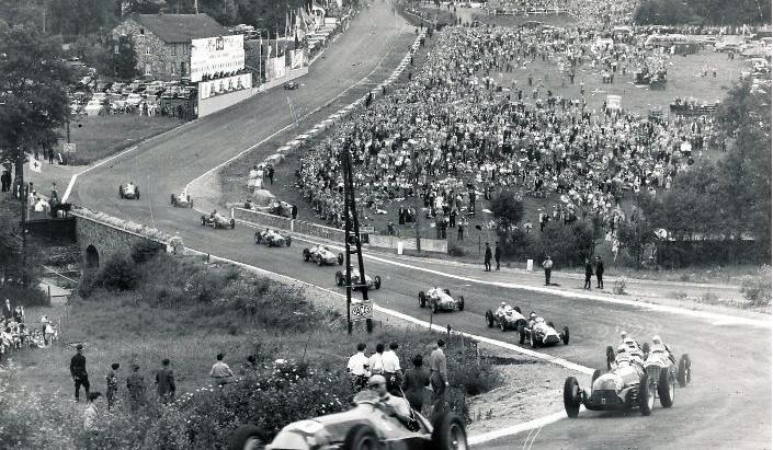 #5 GP del Belgio 1950, Fangio vince a Spa e vola in testa al campionato