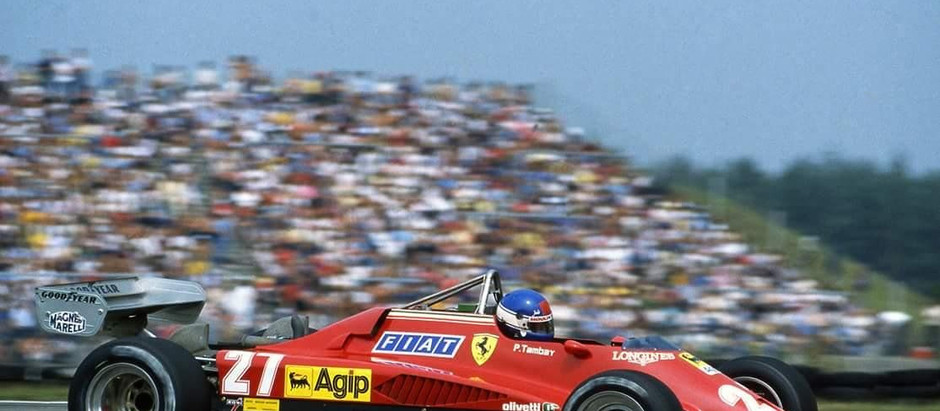 Patrick Tambay, a luxury substitute