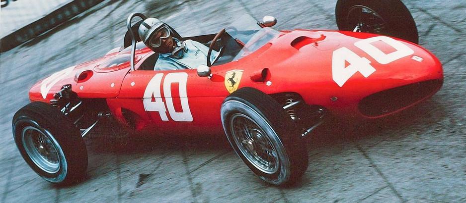Willy Mairesse, uno spericolato pilota alla guida della Ferrari