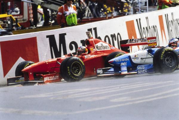 #13 1997: GP del Belgio, Schumacher danza sul bagnato, Villeneuve e la Williams naufragano