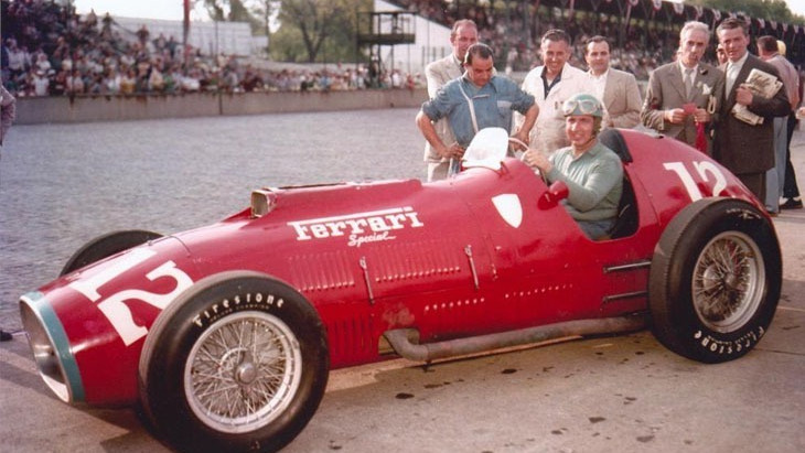 #17 500 Miglia di Indianapolis 1952, Ascari prova l'assalto a Indianapolis