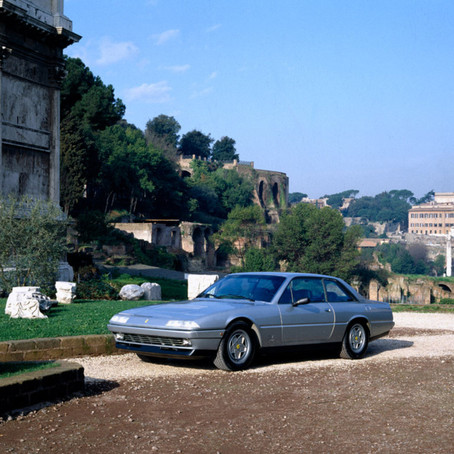 Ferrari 412, the swan song for the flagship of Maranello