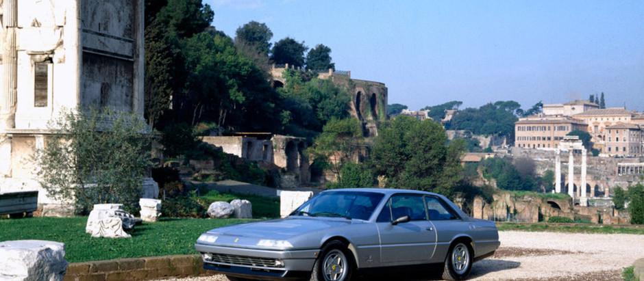 Ferrari 412, the swan song for the flagship of Maranello