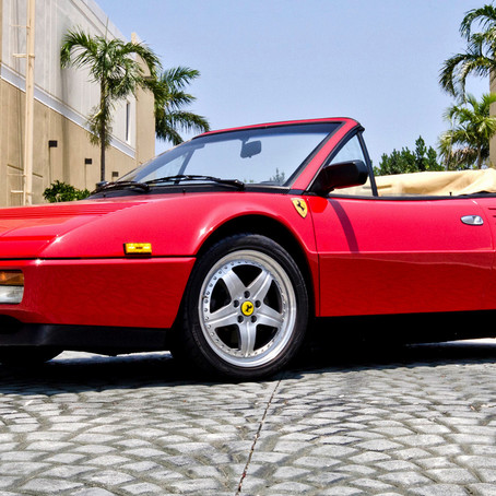 Ferrari Mondial 3.2, a test of maturity
