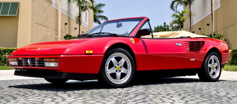 Ferrari Mondial 3.2, a test of maturity