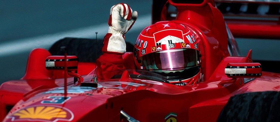 Pre-stagione 2000, Michael Schumacher e la Ferrari si preparano ad una straordinaria vittoria