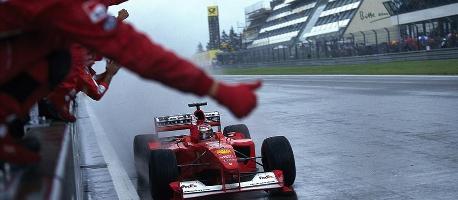 #652 GP d'Europa 2000, Schumacher ritorna alla vittoria, Hakkinen segue al secondo posto