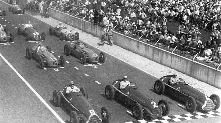 #6 GP di Francia 1950, Fangio trionfa per la terza volta in stagione