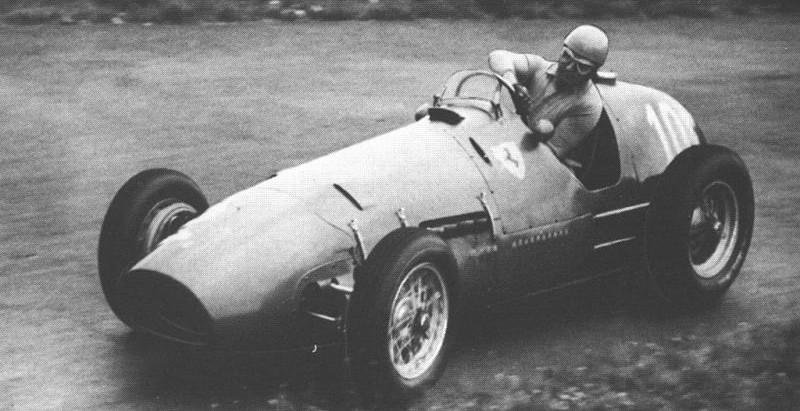 Pre-campionato 1952, Ascari diventa campione con la Ferrari 500