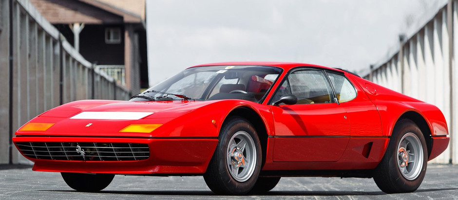 Ferrari 512 BB, where the BB stands for...Brigitte Bardot