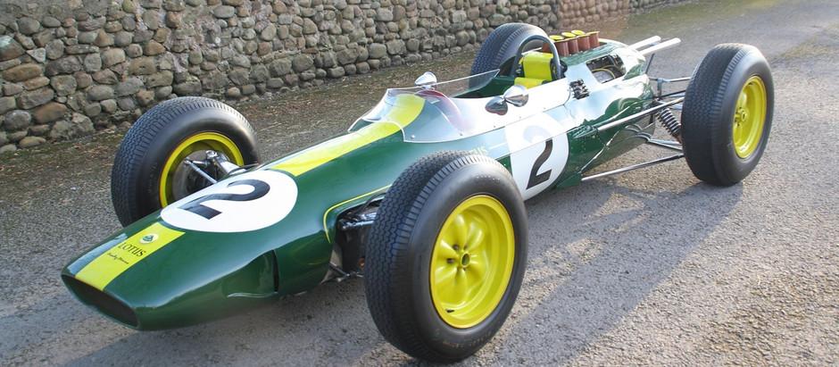 Lotus 25, la prima vettura con telaio in monoscocca