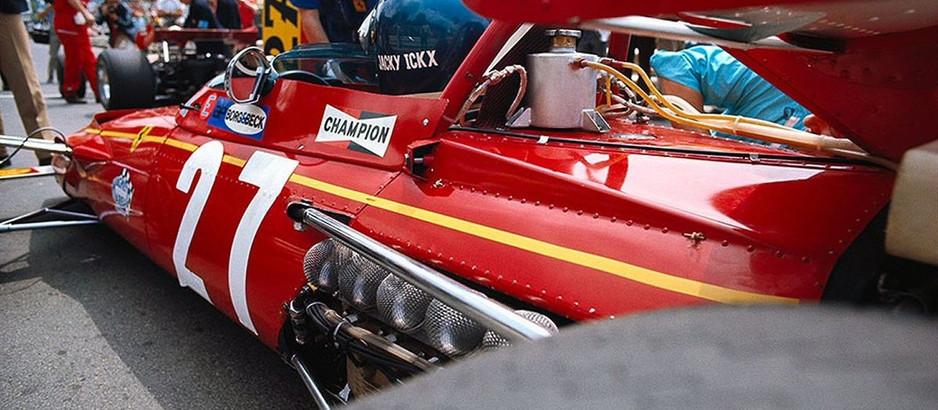 """Jacky Ickx, il """"Pierino in terribile"""" vicecampione del mondo con la Ferrari"""