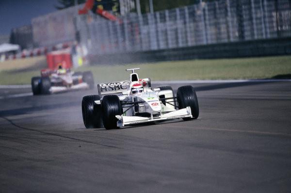 #15 1999: GP d'Europa, vince a sorpresa Johnny Herbert con la Stewart, Gené con la Minardi è sesto