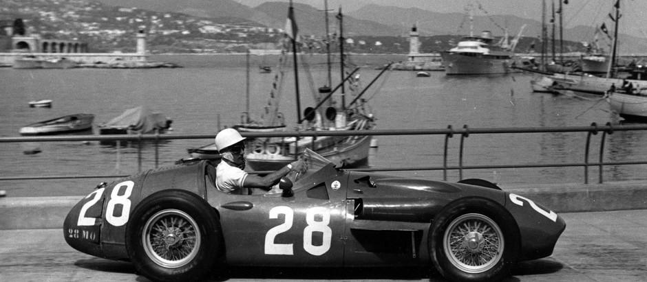 #50 GP di Monaco 1956, Moss domina,  Fangio manda in crisi il box Ferrari